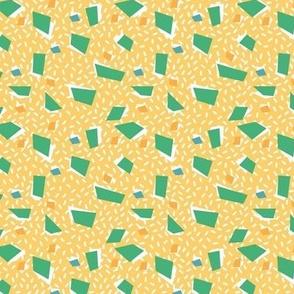 Mini terrazzo- yellow