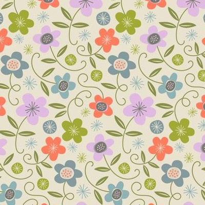 vintage ditsy floral