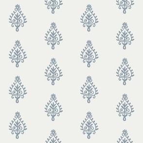 block print fabric - denim sfx4013 indian block print home decor