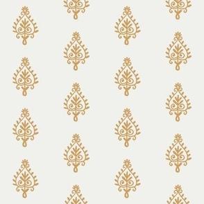 block print fabric - oak leaf sfx1144 indian block print home decor