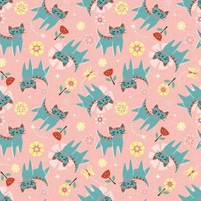 Frolicking Kittens ©studioxtine