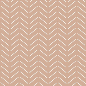 mudcloth fabric - almond sfx1213