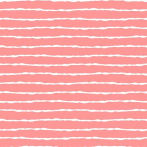 thin white stripes on pink