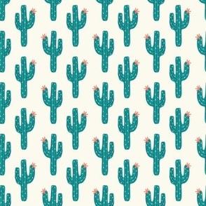 cactus climb green // small scale