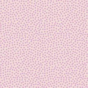 Dots in light pink / Little Daisy