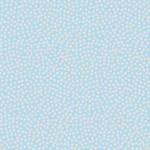 Dots in Light blue und light pink / Little Daisy / Polka Dots / light blue