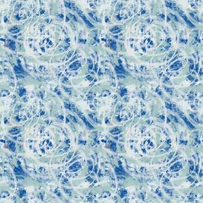 Faux Wonder Surface blue green