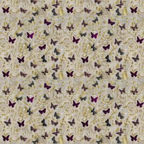 Butterflies and Brocade