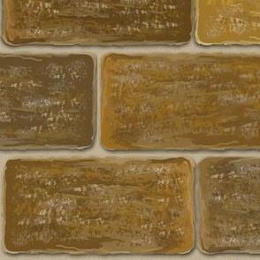 Old Grayed Brick wall