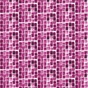 Magenta Watercolor Tile