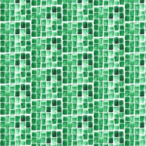 Jade Watercolor Tile