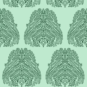 Tribal Green - Medium Plain