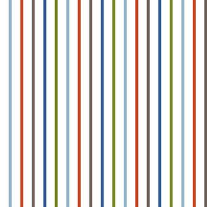 Pinstripes - Multi