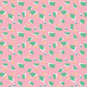 Mini  terrazzo - pink