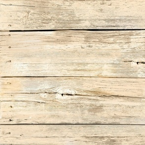Large Weathered Wood Siding-lt tan-horizontal