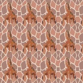 Sm. Verticle Giraffe Family by DulciArt, LLC