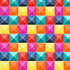 Colorful Imagine Atrium in 3D