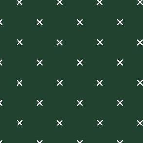 custom hunter green x