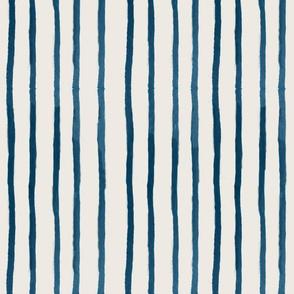 blue water color stripe