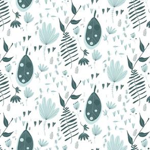 Pine Mint Floral