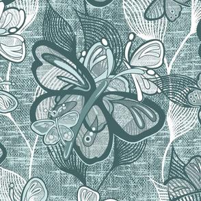 Pine + Mint Butterflies Play