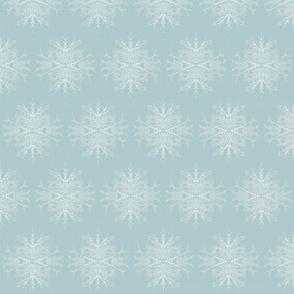 Twig Chandelier Spa Blue, White