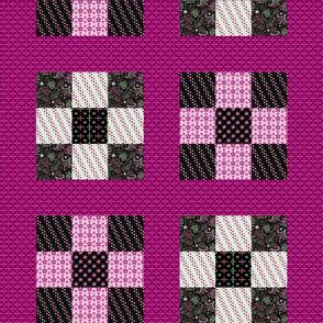 Celebrate | Azalea - 9 block cheater quilt #2