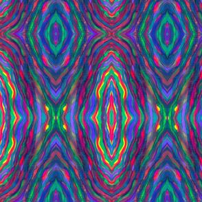 Psychedelic Wavy Stripes
