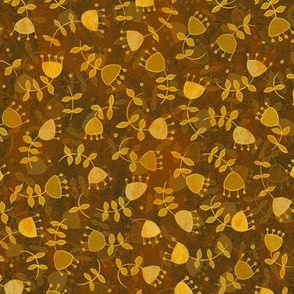 Micromodern Ditsy Goldenrod