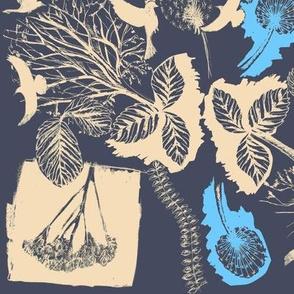 night birds in the trees