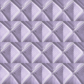 Parisian Ceiling, Lavender Gray White