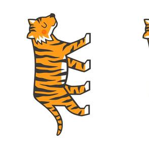 Tiger Jungle Zoo Pillow Plush Plushie Softie Cut & Sew