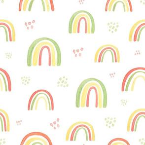 Childish rainbow pattern