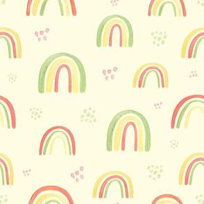 retro rainbow pattern