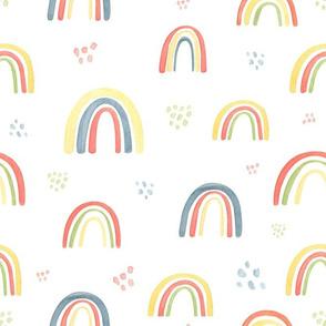 cute rainbow pattern