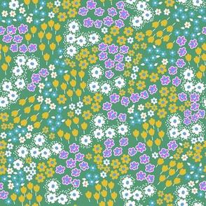 New ditsy flowers - sagebrush