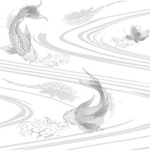 Koi Pond - Wave
