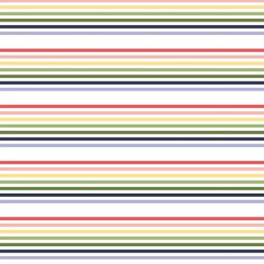 80s Rainbow Bright Stripes