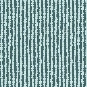 Glass Beads (pine + mint)