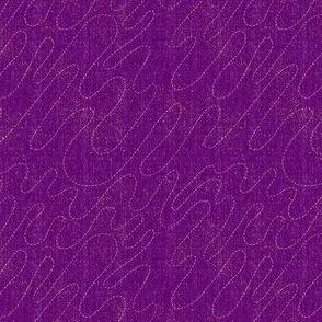 I Heart Meanders - Purple