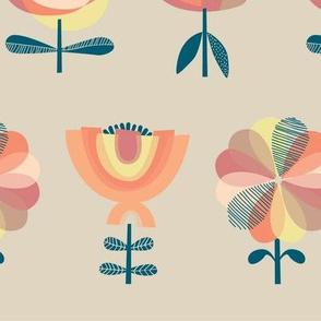 Nothing but flowers -  desert