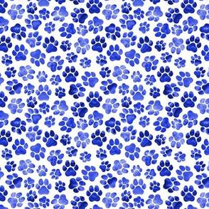 Blue Pawprints