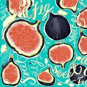 Sweet figs teal