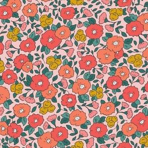 Pink Vintage Floral