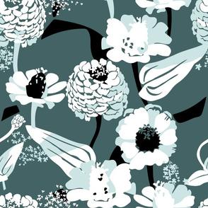 Zinnia Floral
