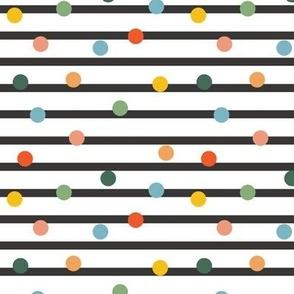 Breton Stripe Multi Dots