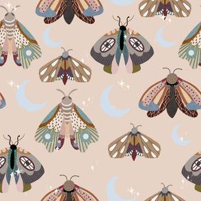 Midnight moths - peach