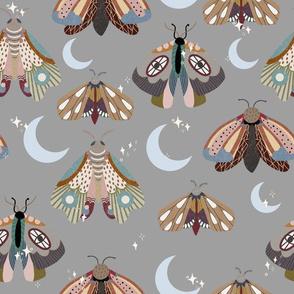 Midnight moths - slate