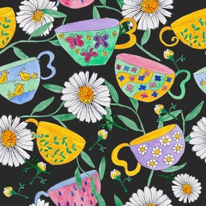 Tea Cups & Daisies