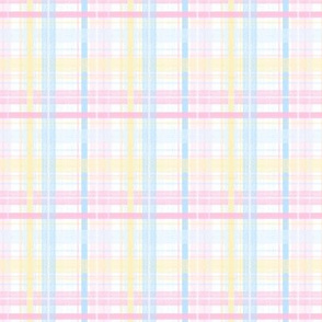 Easter Plaid - Small Scale by Angel Gerardo